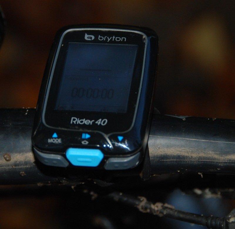 Bryton Rider 40 cykel GPS