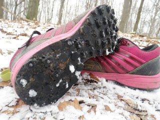 Bedste løbesko til sne og is