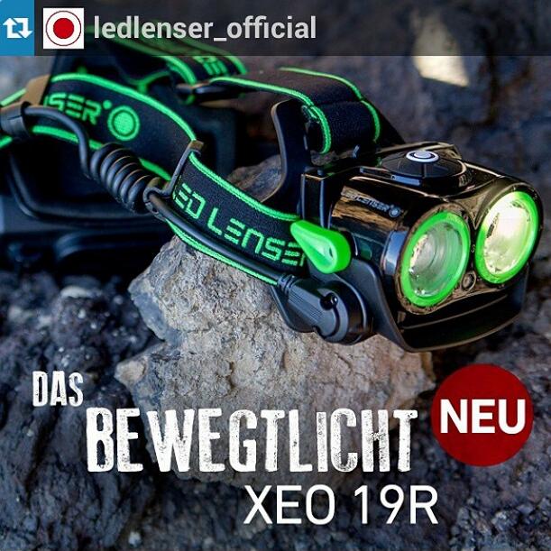 Første blik på Led Lensers nye 2000 lumen lygte xeo 19r