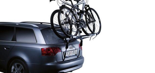 Bedste cykelholder til bagklap - bil uden krog