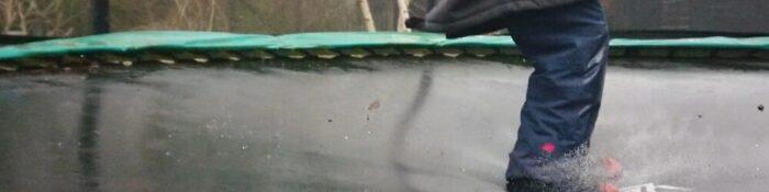 Vandtætte sokker til børn på trampolin mm.